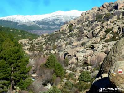 La Camorza-La Pedriza; lagunas de gredos la bola del mundo madrid viajes en enero
